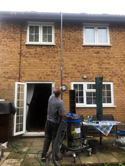 Gutter cleaning prevents fascia board damage