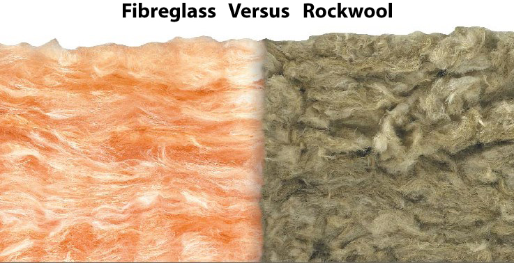 Is Rockwool the same as Fibreglass